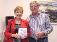 Pic: Jim Campbell.Ann and Gordon Rochford attended the launch of the Wexford Chamber Wexford Opera Festival Fringe Guide in Greenacres.