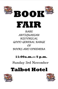 Wexford Festival Book & Collectors Fair @ The Talbot Hotel